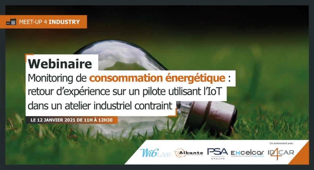 Webinaire - Monitoring de consommation énergétique